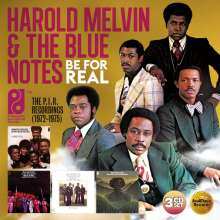 Harold Melvin: Be For Real: The P.I.R. Recordings, 3 CDs