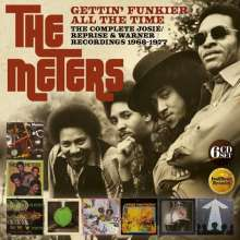 The Meters: Gettin' Funkier All The Time: The Complete Josie / Reprise & Warner Recordings 1968 - 1977, 6 CDs