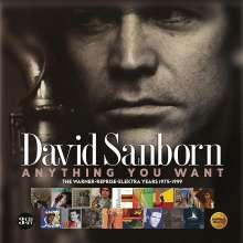 David Sanborn (geb. 1945): Anything You Want: The Warner-Reprise-Elektra Years 1975 - 1999, 3 CDs
