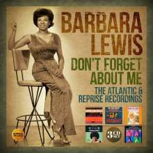 Barbara Lewis: Don't Forget About Me: The Atlantic & Reprise Recordings, 3 CDs