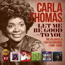 Let Me Be Good To You: The Atlantic & Stax Recordings 1960 - 1968, 4 CDs