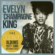 """Evelyn """"Champagne"""" King: The RCA Albums 1977 - 1985, 8 CDs"""