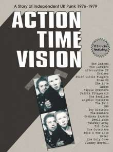 Action Time Vision: A Story Of Independent UK Punk, 4 CDs