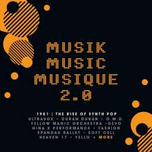 Musik Music Musique 2.0-1981 The Rise Of Synth Pop, 3 CDs