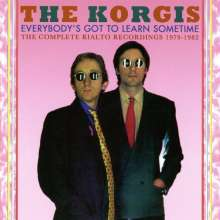 The Korgis: Everybody's Got To Learn Sometime: The Complete Rialto Recordings 1979 - 1982, 2 CDs