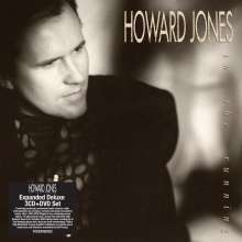 Howard Jones (New Wave): In The Running, 4 CDs