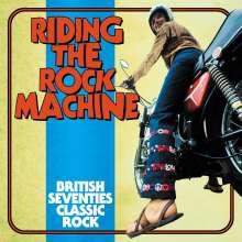 Riding The Rock Machine: British Seventies Classic Rock, 3 CDs