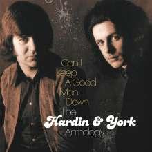 Eddie Hardin & Pete York: Can't Keep A Good Man Down: The Hardin & York Anthology, 6 CDs