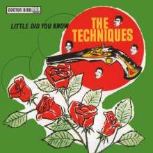The Techniques: Little Did You Know, CD