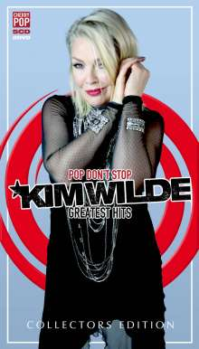Kim Wilde: Pop Don't Stop: Greatest Hits (Deluxe Edition), 5 CDs und 2 DVDs