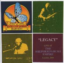 John Lees' Barclay James Harvest: Legacy: Live At The Shepherd's Bush Empire 2006 (CD + DVD), 1 CD und 1 DVD