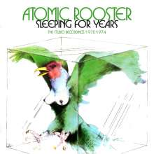 Atomic Rooster: Sleeping For Years: The Studio Recordings 1970 - 1974, 4 CDs