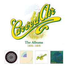 Curved Air: The Albums 1970 - 1973, 4 CDs