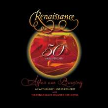 Renaissance: 50th Anniversary: Ashes Are Burning  - An Anthology (Live In Concert), 2 CDs, 1 DVD und 1 Blu-ray Disc