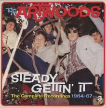 The Artwoods: Steady Gettin' It: Complete Recordings 1964 - 1967, 3 CDs