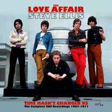 The Love Affair: Time Hasn't Changed Us: Complete CBS Recordings 1967-1971, 3 CDs
