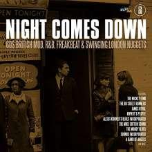 Night Comes Down: 60's British Mod, R&B, Freakbeat & Swinging London Nuggets, 3 CDs