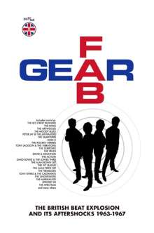 Fab Gear: The British Beat Explosion, 6 CDs