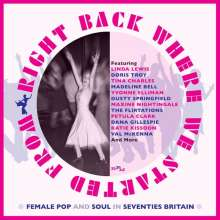Right Back Where You Started From: Female Pop And Soul In Seventies Britain, 3 CDs