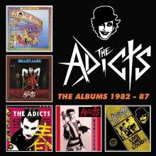 The Adicts: The Albums 1982 - 87, 5 CDs