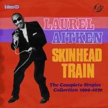 Laurel Aitken: Skinhead Train: The Complete Singles Collection 1969 - 1970, 5 CDs