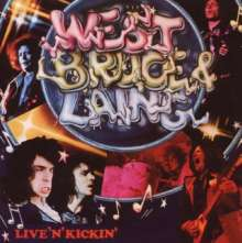 West, Bruce & Laing: Live 'N' Kickin' (Remastered), CD
