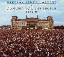 Barclay James Harvest: Berlin: Concert For The People (11 Tracks) (30th-Anniversary-Edition), CD