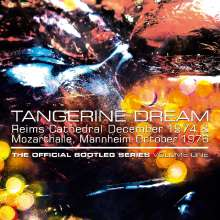 Tangerine Dream: Reims Cathedral December 1974 & Mozarthalle, Mannheim October 1976 - The Official Bootleg Series Vol. 1, 4 CDs