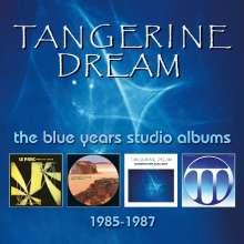 Tangerine Dream: Blue Years Studio Albums, 4 CDs