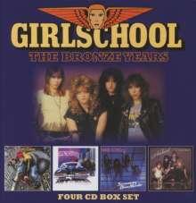 Girlschool: The Bronze Years, 4 CDs