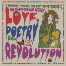 Love Poetry & Revolution 1966 To 1972, 3 CDs