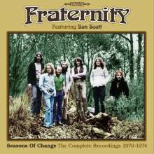 Fraternity: Seasons Of Change: The Complete Recordings 1970 - 1974, 3 CDs