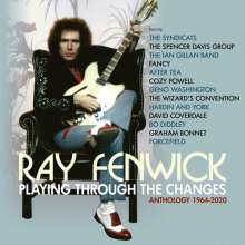 Ray Fenwick: Playing Through The Changes: Anthology 1964 - 2020, 3 CDs