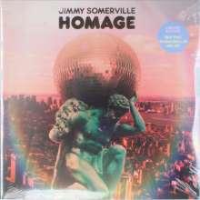 Jimmy Somerville: Homage (Limited Edition) (Blue Vinyl) (2LP + CD), 2 LPs