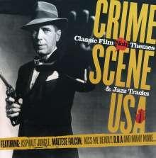 Filmmusik: Crime Scene USA - Classic Film Noir., CD