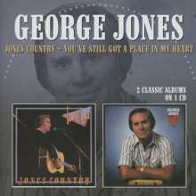 George Jones (1931-2013): Jones Country / You've Still Got A Place In My Heart, CD