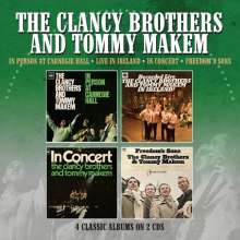 The Clancy Brothers & Tommy Makem: 4 Classic Albums Albums On 2CDs, 2 CDs