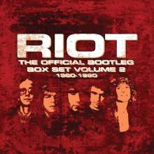 Riot: The Official Bootleg Box Set Vol.2 1980 - 1990, 7 CDs
