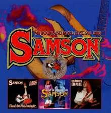 Samson: Mr. Rock And Roll: Live 1981 - 2000, 4 CDs