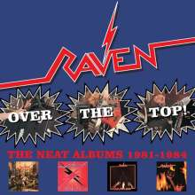 Raven: Over The Top! The Neat Albums (Box Set), 4 CDs