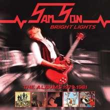 Samson: Bright Lights: The Albums 1979 - 1981, 5 CDs