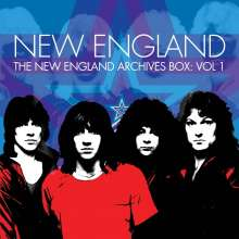 New England: The New England Archives Box Vol.1, 5 CDs