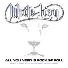White Lion (Hard Rock): All You Need Is Rock N' Roll: The Complete Albums 1985 - 1991 (Box Set), 5 CDs