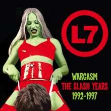 L7: Wargasm: The Slash Years 1992 - 1997, 3 CDs