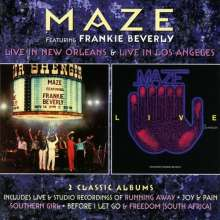 Maze: Live In New Orleans  /Live In Los Angeles, 2 CDs