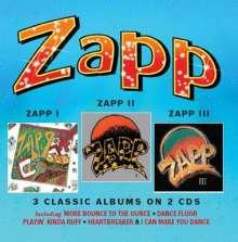 Zapp: Zapp I /Zapp II / Zapp III (3 Classic Albums on 2 CDs), 2 CDs