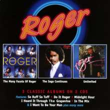 The Many Facets Of Roger / The Saga Continues / Unlimited, 2 CDs