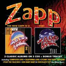 Zapp: The New Zapp IV U / Vibe, 2 CDs