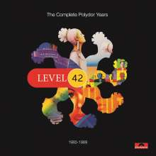 Level 42: The Complete Polydor Years Volume 2 (1985 - 1989), 10 CDs