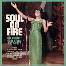 Soul On Fire: The Detroit Soul Story 1957 - 1977, 3 CDs